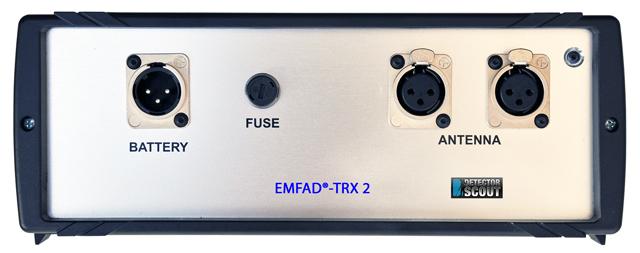 EMFAD Sender TRX2 - Rückseite