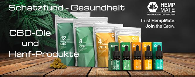 Hanf und Hanfprodukte,CBD,CBD Öl,CBD-Öl von Hempmate